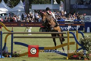 Jessica Springsteen - The Longines Global Champions Tour - Season 2016 Madrid - Madrid, Spain - Sunday 22nd May 2016