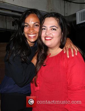 Rosario Dawson and Wendy Carrillo