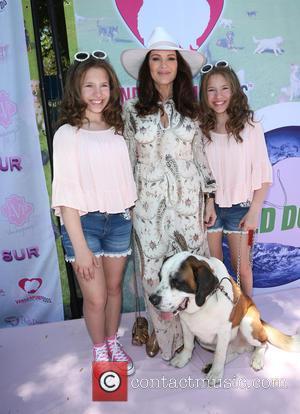 Chiara D'ambrosio, Lisa Vanderpump and Bianca D'ambrosio