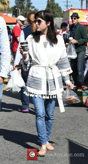 Selma Blair - Selma Blair goes to the Farmers Market with a friend - Los Angeles, California, United States -...