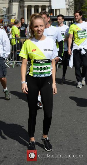 Eden Taylor-Draper - Celebrities at the The Great Manchester Run, Manchester - Manchester, United Kingdom - Sunday 22nd May 2016