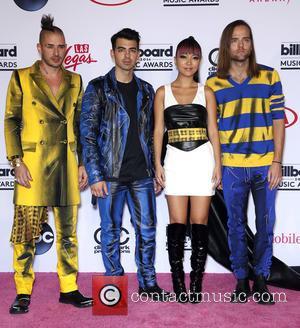 DNCE - 2016 Billboard Music Awards Winners at T-Mobile Arena Las Vegas at T-Mobile Arena, Billboard Music Awards - Las...