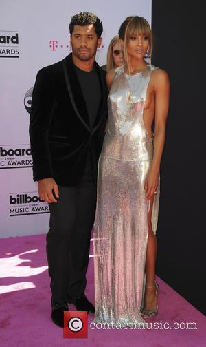 Ciara , Russell Wilson - 2016 Billboard Music Awards Arrivals at T-Mobile Arena Las Vegas at Billboard Music Awards -...