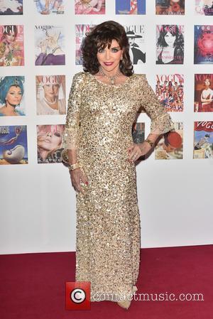 Joan Collins - British Vogue - 100th anniversary gala dinner held at Kensington Gardens. - London, United Kingdom - Monday...