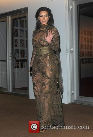 Kim Kardashian - Celebrities attend the Vogue 100th Anniversary Gala Dinner held at The East Albert Lawn in Kensington Gardens...
