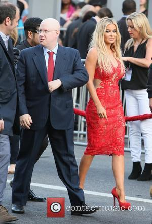 Carmen Electra and Matt Lucas