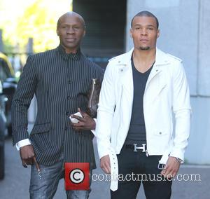 Chris Eubank and Jr.