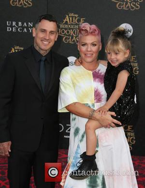 Pink's Daughter Is A Bmx Biker, Just Like Daddy