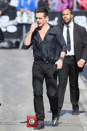 Colin Farrell - Colin Farrell seen at the ABC studios for Jimmy Kimmel Live! at Hollywood - Los Angeles, California,...