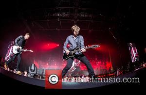 James Bourne, Matt Willis, Charlie Simpson and Busted
