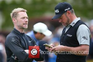 Ronan Keating , Lee Westwood - BMW PGA Championship Pro Am at Wentworth Golf Club - Virginia Water, United Kingdom...