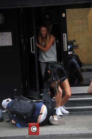 Charlotte Crosby, Chloe Ferry and Marty Mckenna