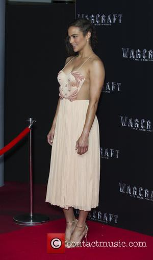 Paula Patton - Special screening of 'Warcraft: The Beginning' at BFI IMAX - Arrivals - London, United Kingdom - Wednesday...