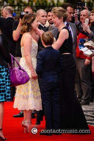 Emilia Clarke , Thea Sharrock - 'Me Before You' U.K. Premiere - Arrivals - London, United Kingdom - Wednesday 25th...