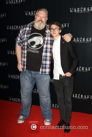Kristian Nairn and Isaac Hempstead-wright