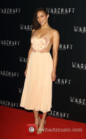 Paula Patton - Warcraft: The Beginning - VIP film screening at BFI IMAX, Waterloo, London at BFI IMAX - London,...