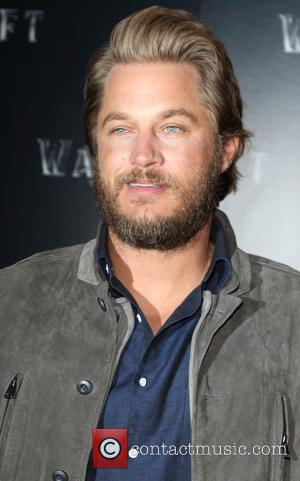 Travis Fimmel - Warcraft: The Beginning - VIP film screening at BFI IMAX, Waterloo, London at BFI IMAX - London,...