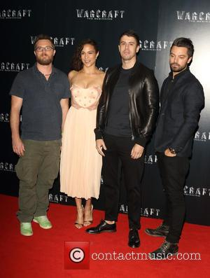 Duncan Jones, Paula Patton and Dominic Cooper