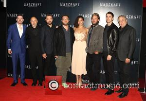 cast - Warcraft: The Beginning - VIP film screening at BFI IMAX, Waterloo, London at BFI IMAX - London, United...