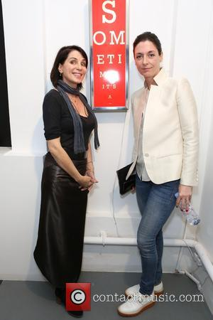 Sadie Frost , Mary McCartney - Guests attend Zoe Grace private view of her latest show 'Art Electric'. at Lawrence...