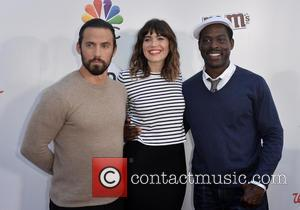 Milo Ventimiglia, Mandy Moore and Sterling K. Brown