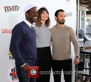 Sterling K. Brown, Mandy Moore and Milo Ventimiglia
