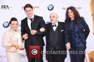 Maria Brauner, David Brauner, Artur Brauner and Alice Brauner