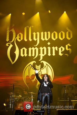 Alice Cooper , Hollywood Vampires - Rock in Rio Lisboa 2016 - Day 3 - Performances - Hollywood Vampires at...