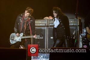 Alice Cooper, Johnny Depp and Hollywood Vampires