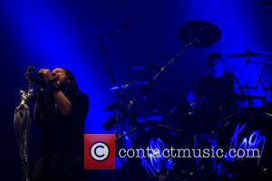 Jonathan Davis, Ray Luzier and Korn