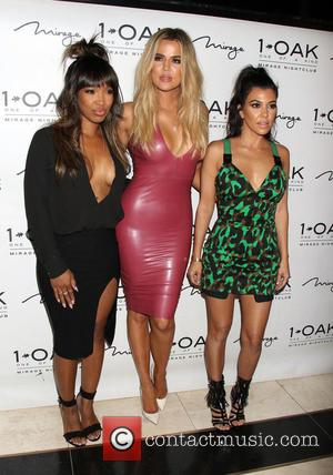 Malika Haqq, Khloe Kardashian and Kourtney Kardashian