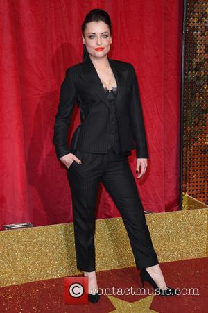 Shona McGarty - The British Soap Awards 2016 held at Hackney Town Hall - Arrivals - London, United Kingdom -...