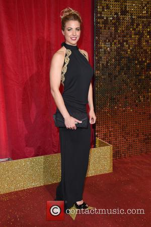 Gemma Atkinson - The British Soap Awards 2016 held at Hackney Town Hall - Arrivals - London, United Kingdom -...