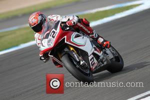 Leon Camier - World Superbikes UK Round 29th May 2016 Donington Park - Castle Donington, United Kingdom - Sunday 29th...