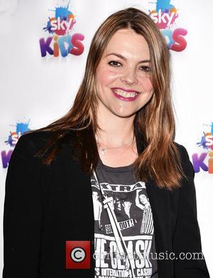 Kate Ford - Sky Kids pop up café for the launch of the Sky Kids app, London at Sky Kids...