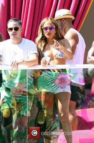 Jennifer Lopez - Jennifer Lopez hosts Carnival Del Sol in Las Vegas at Drai's Beachclub at The Cromwell Hotel and...