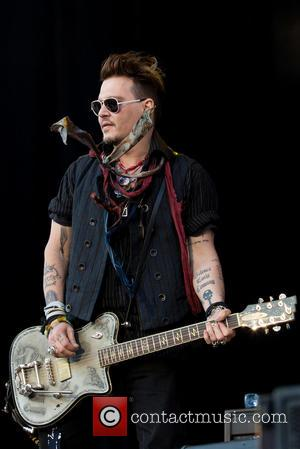 Johnny Depp and Hollywood Vampires
