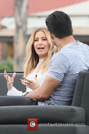 Ashley Tisdale and Mario Lopez