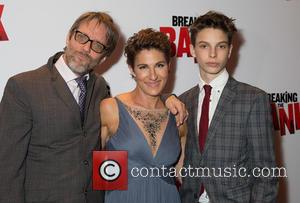 Richard Leaf, Tamsin Greig and Jakob Zebedee Leaf