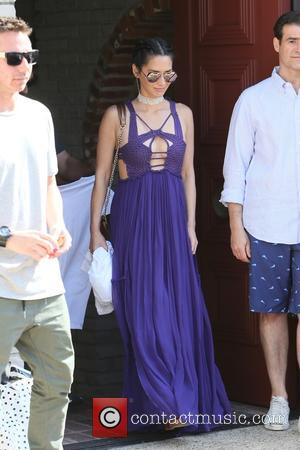 Olivia Munn - Olivia Munn and Aaron Rodgers seen leaving Joel Sliver's Memorial Day Party at Malibu - Los Angeles,...