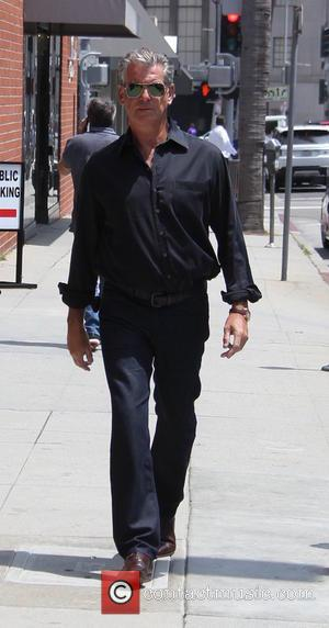 Pierce Brosnan - Pierce Brosnan walks in Beverly Hills at beverly hills - Beverly Hills, California, United States - Tuesday...