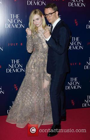 Elle Fanning , Nicolas Winding Refn - 'The Neon Demon' U.K. Premiere - Arrivals at Picturehouse Central, Piccadilly - London,...