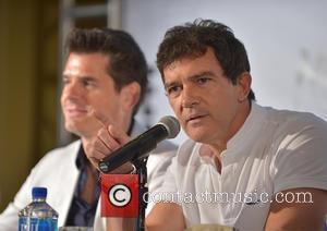 Julio Iranzo and Antonio Banderas