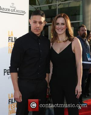 Theo Rossi and Meghan Mcdermott Rossi