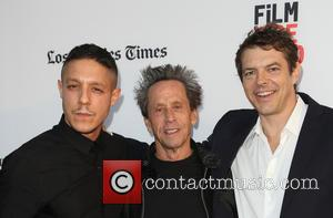 Theo Rossi, Brian Grazer and Jason Blum