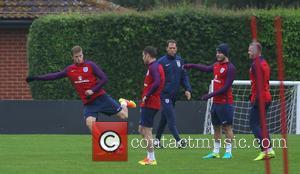 Jordan Henderson, Marcus Rashford, Jack Wilshire, James Milner, Wayne Rooney and Eric Dier