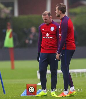Wayne Rooney and Jordan Henderson
