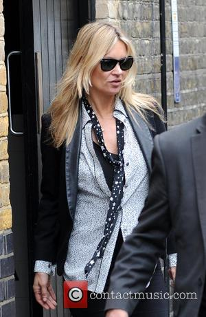 Kate Moss - Kate Moss and boyfriend Count Nikolai Von Bismarck leave The Firehouse - London, United Kingdom - Thursday...