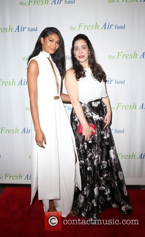 Chanel Iman and Fatima Shama