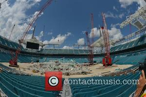 View at Miami Dolphins Stadium
